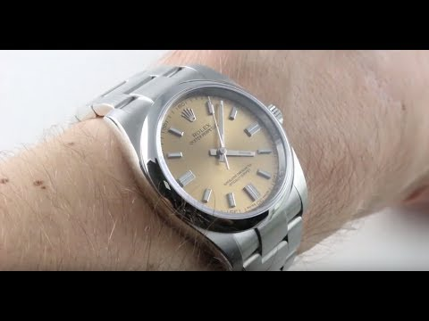 Rolex Oyster Perpetual 36 White Wine Dial 116000 Luxury Watch Review