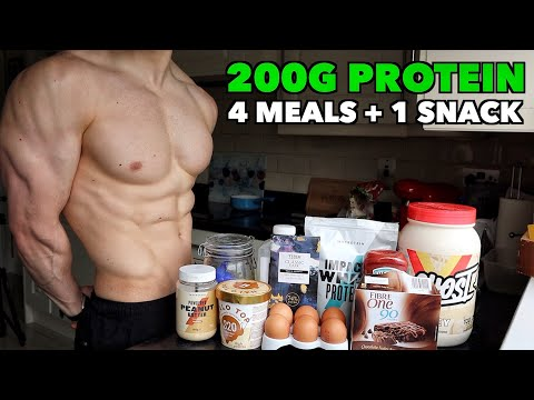 Full Day of Eating 1800 Calories | High Protein Diet for Fat Loss...