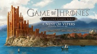 Game of Thrones Juego de Tronos Temporada 1 Episodio 5 Gameplay Español telltale games
