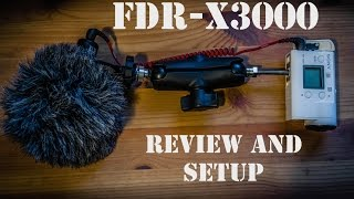 Sony FDR review and setup