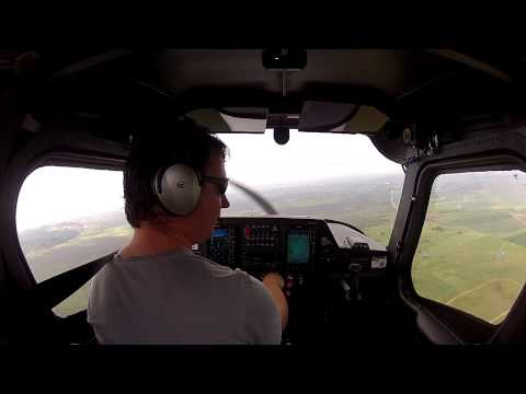 PPL 028 - Training area solo steep turns forced landings turbulence