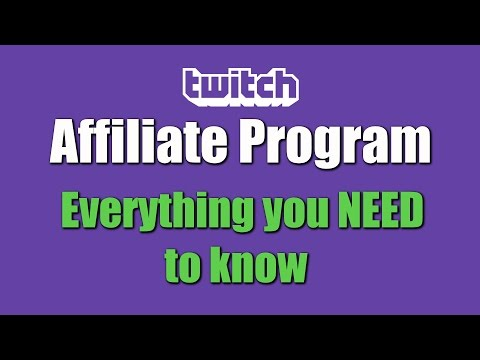 Twitch Affiliate Program - How almost anyone will be able to make money from Twitch!