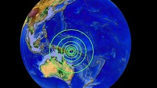 4/30/2015 -- Large Earthquake ALERT -- 6.9M (6.8M revised) Strikes W. Pacific Forecast Area DIRECTLY