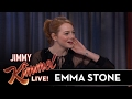 Emma Stone on Awkward Golden Globes Moment video & mp3