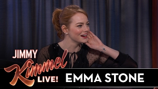Emma Stone On Awkward Golden Globes Moment