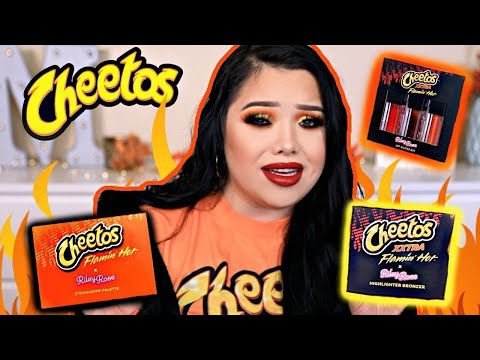 I tried the Hot Cheetos makeup collection | Forever21 exposed thumbnail