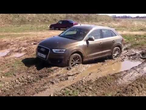 audi q3 off road test part 1 youtube. Black Bedroom Furniture Sets. Home Design Ideas