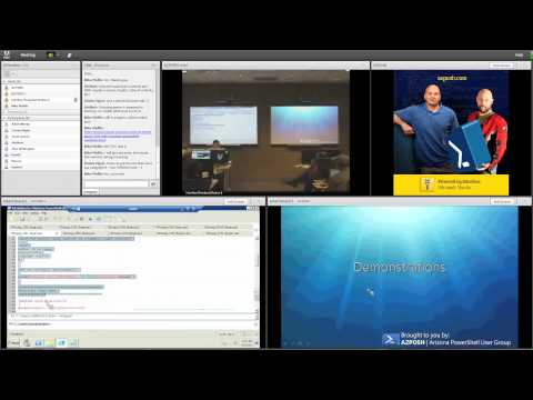 Arizona Windows PowerShell User Group meeting June 1, 2011 at Interface Training part 1
