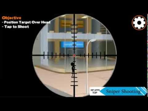 Sniper Shooting - WindowsPhone Gameplay