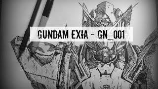 Sketch Sesh: Exia GN-001 [Gundam Exia]