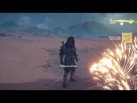AC Origins - Papyrus Puzzle: Burning Bush - YouTube