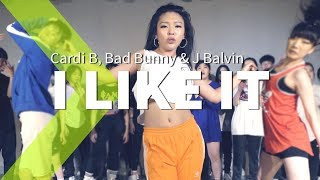 Cardi B, Bad Bunny & J Balvin - I Like It / LIGI Choreography. Video