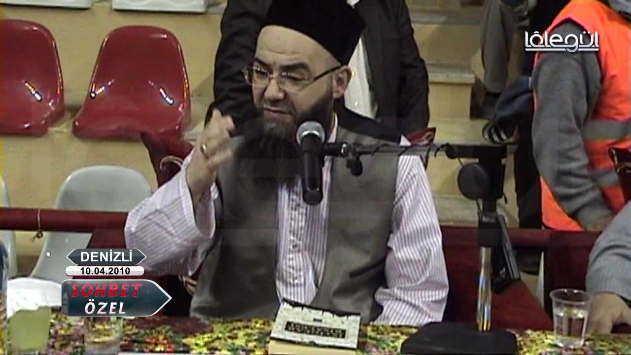 10 Nisan 2010 Tarihli Denizli Sohbeti - Cübbeli Ahmet Hoca Lâlegül TV