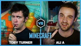 Toby Turner vs Ali-A | MINECRAFT | USA vs UK |  Legends of Gaming