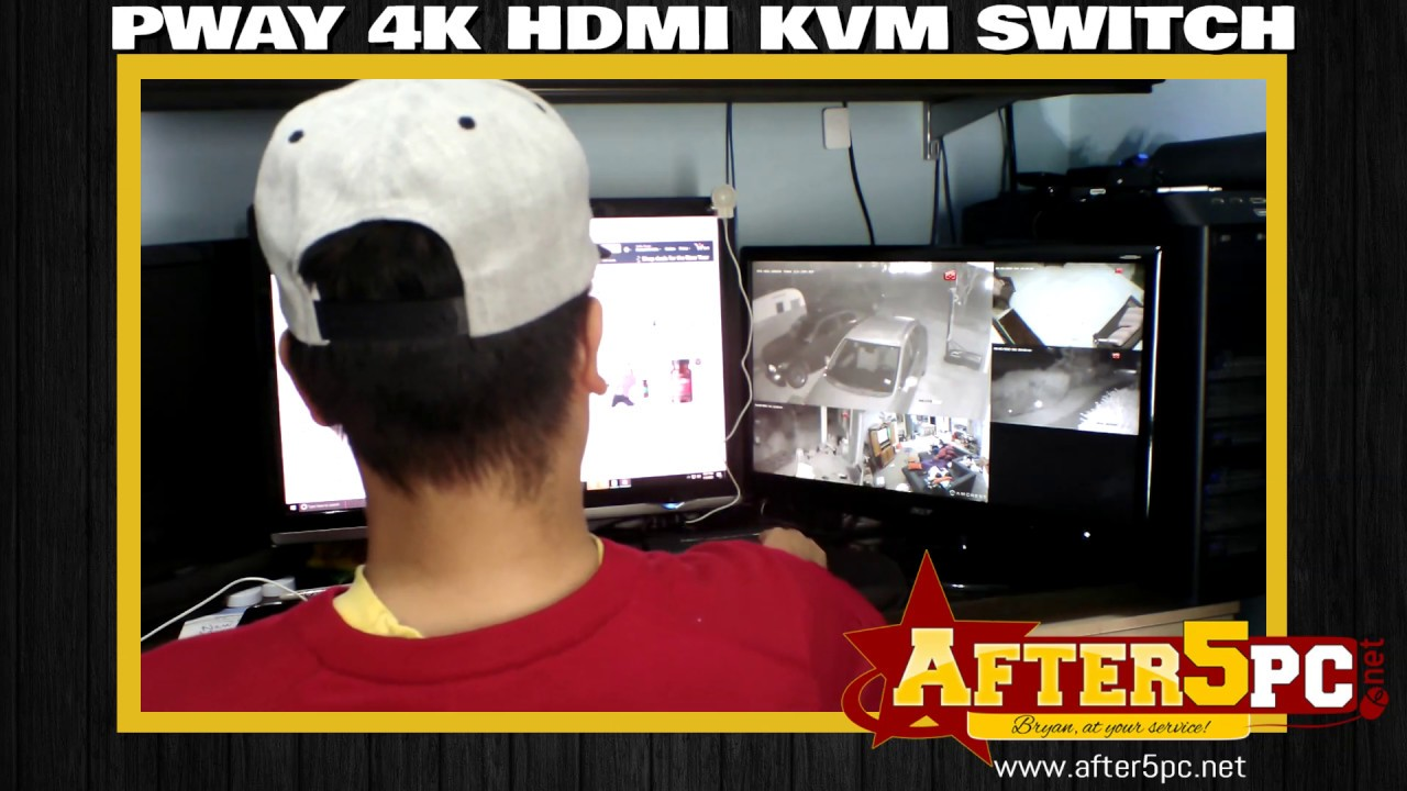 Download PWAY HDMI KVM Switch Review - 4 Port USB HDMI KVM Switch Review