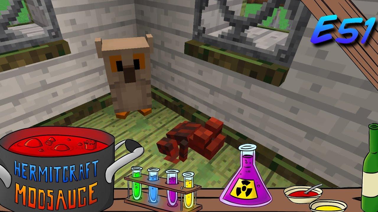 Minecraft Mods - ModSauce - OWLS AND TOADS! ( Hermitcraft Modded Minecraft  Witchery E51 )