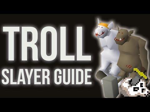 OSRS Trolls Slayer Guide 07 - 40K+/HR - Melee Setup W/ Cannon (Nov 2018)