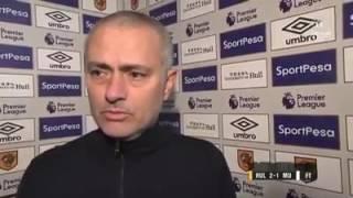 Hull City 2-1 Manchester United - Jose Mourinho Post Match Interview