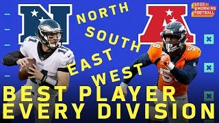 who is the best player in every division? nfl network