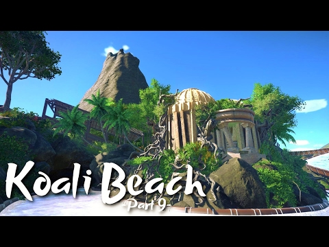 Planet Coaster - Koali Beach Park (Part 9) - Jungle Water Rapids - Part 1 (ft. Silvarret & Keralis)