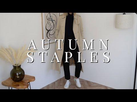 My 10 Must-Have Autumn Wardrobe Staples
