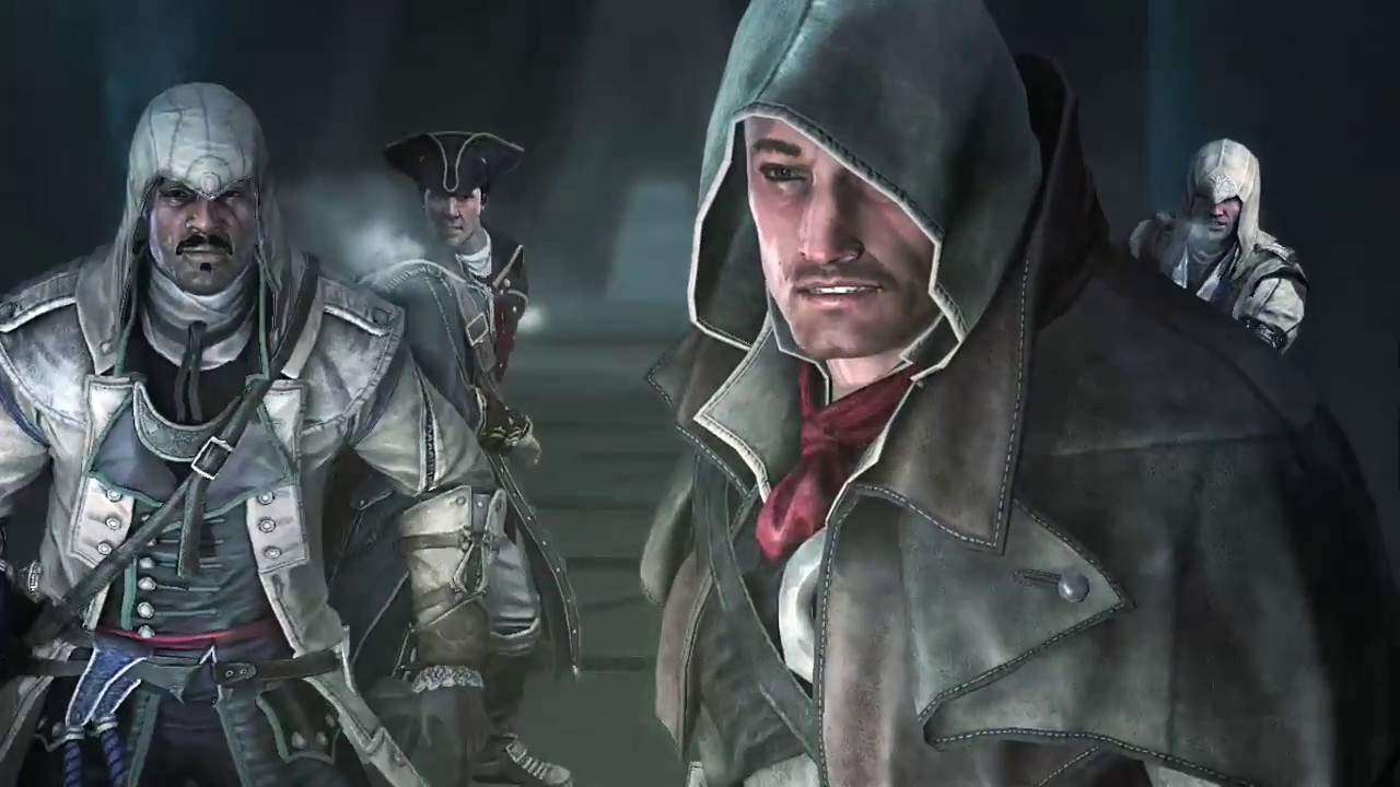 Assassin S Creed Rogue Shay Haytham Vs Liam Achilles