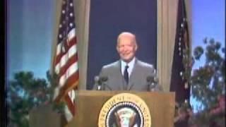 INAUGURAÇÃO TV A CORES NBC Washington - 1958