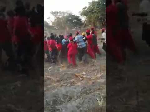 UPND CADRES HARASS & BEAT UP JOURNALISTS IN FULL VIEW OF ITS PARTY LEADERSHIP
