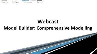 Civil Site Design - Webcast - Model Builder: Comprehensive Modelling