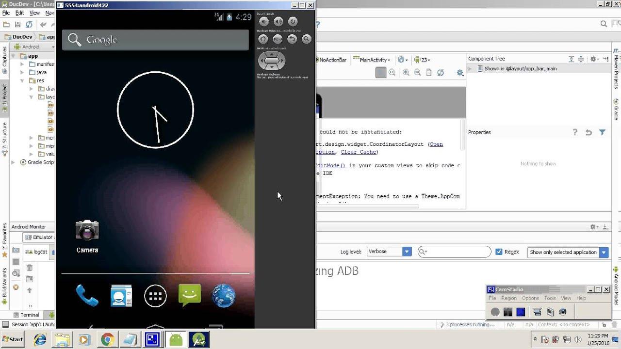 Android monkeyrunner tutorial for beginner - YouTube
