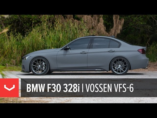 BMW F30 328i | All New Vossen VFS-6 Utilizing Flow Formed Technology