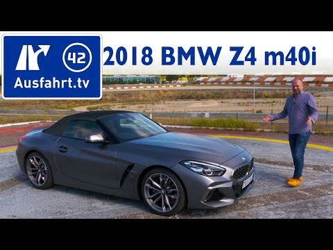 2018 Bmw Z4 M40i G29 Kaufberatung Test Review Youtube