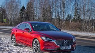 Видеосъемка тест драйва автомобиля Mazda