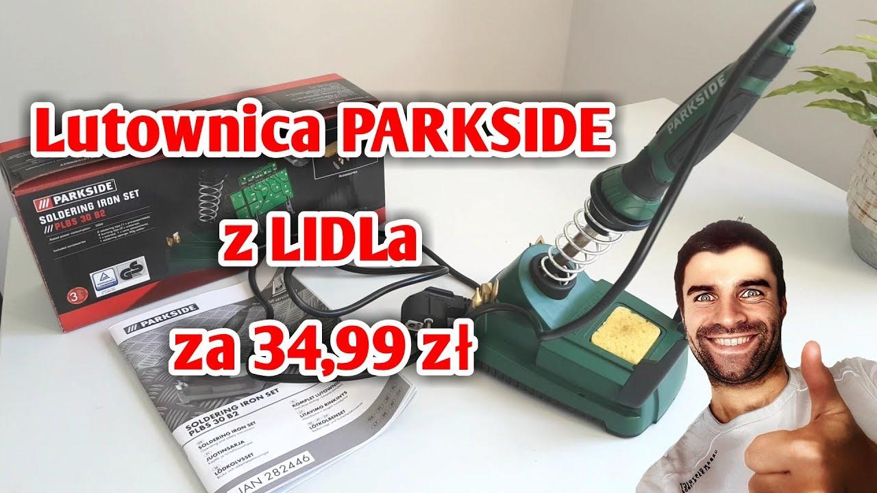 Lutownica PARKSIDE z LIDLa za 34,99 zł? TEST   ForumWiedzy.pl