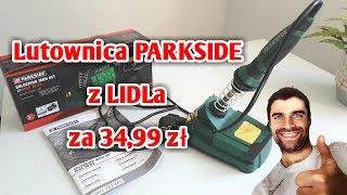 Lutownica PARKSIDE PLBS 30 B2 30W z LIDLa za 34,99 zł RECENZJA   ForumWiedzy