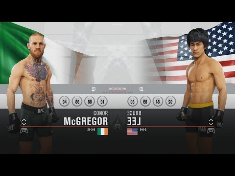 EA Sports UFC 3 - All Fighters | Overall (HD) [1080p60FPS]