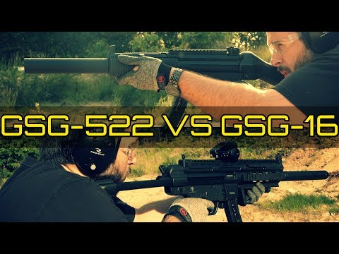 GSG-16 VS GSG-522 SD  - Which is The Best H&K MP5 Clone??? Classic or Modern MP5 looks in 22LR