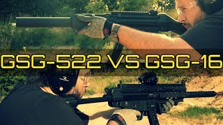 GSG 522 SD VS GSG 16 Which Is The Best H K MP5 Clone Classic Or Modern MP5 Looks In 22LR