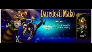 Leveling Mako and general check up