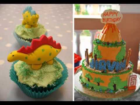 DIY Dinosaur birthday party decorating ideas YouTube