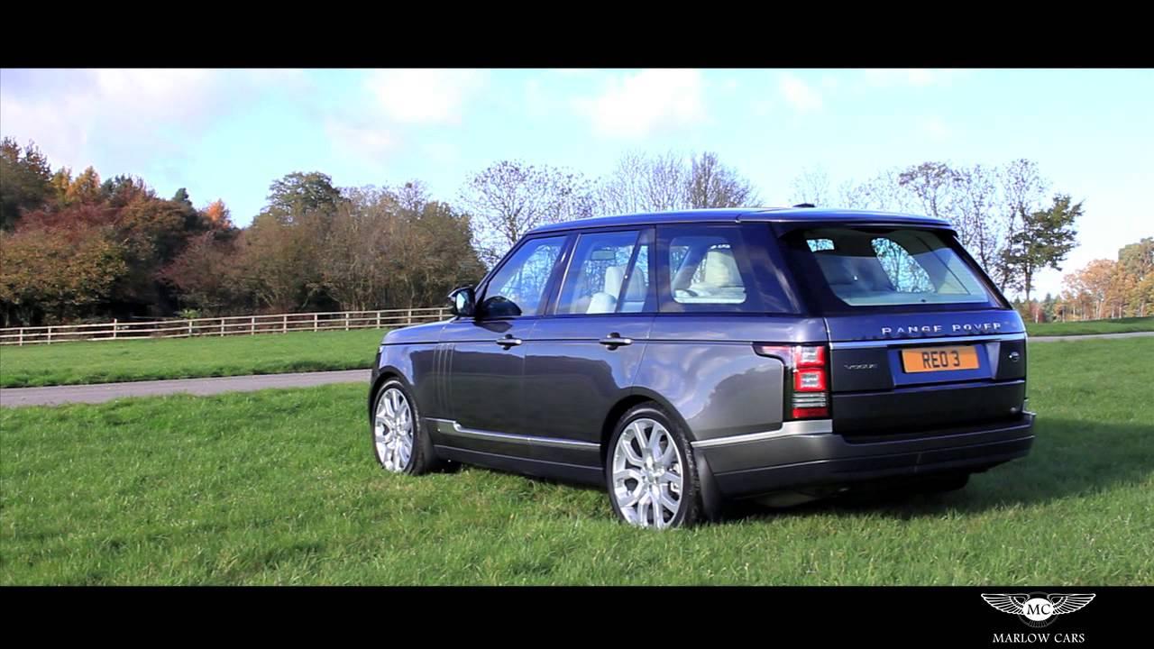 Range Rover Sport >> Range Rover Vogue - Marlow Cars - YouTube