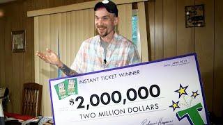 Tennessee Dad Wins $2 Million Lottery: 'I'm Still a Redneck'