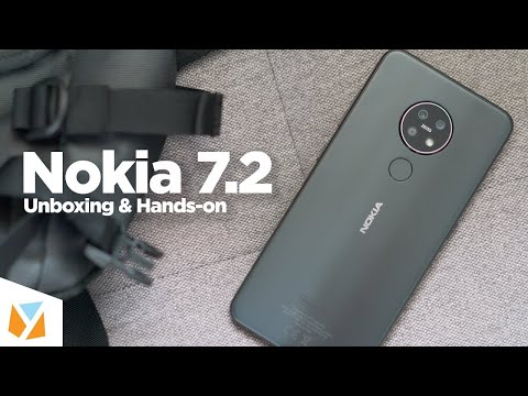 Unboxing Nokia 7.2 /1st Impresstion Ice/Silver Colour Looks Kool With Rear Triple Cameras.