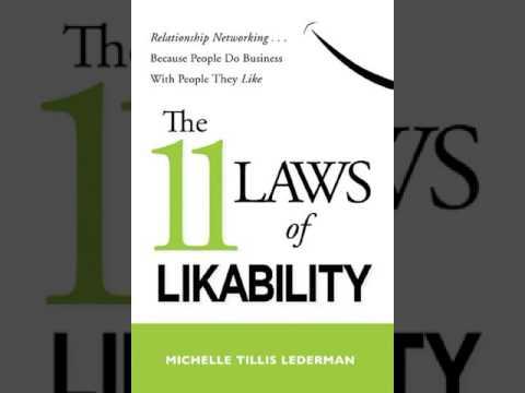 Michelle Tillis Lederman: The 11 Laws of Likability - Audio Book