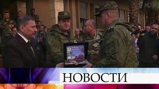 Российские военные врачи за время операции в Сирии приняли тысячи пациентов.
