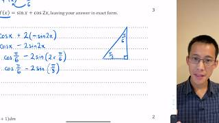 Differential Calculus Exam Review (3 of 3: Product rule, trigonometric functions)