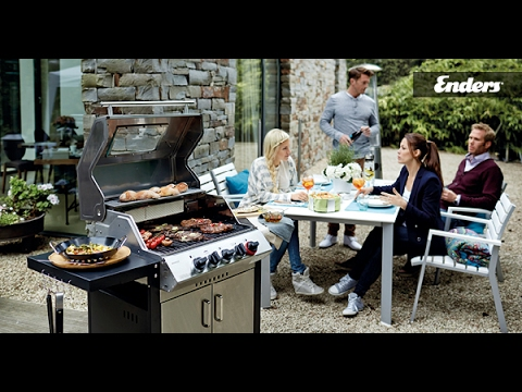 Enders Gasgrill Simple Clean : Enders stand gasgrill kansas sik turbo mit brennern und