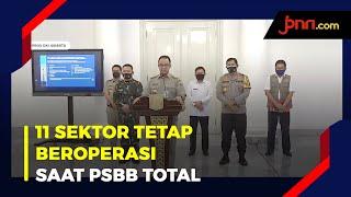 Jakarta PSBB Total, Ini 11 Sektor yang Boleh Beroperasi - JPNN.com