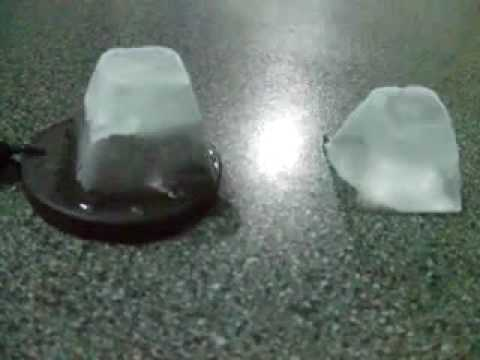 The Scalar Energy Pendant & Ice Demonstration