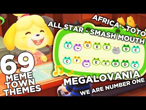 69 Meme Animal Crossing Town Themes